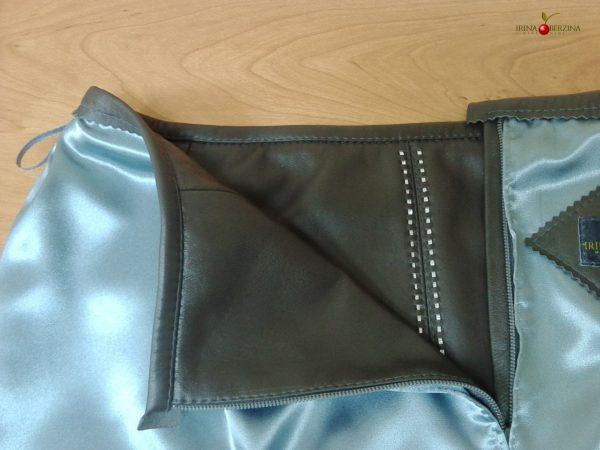 Пошив серой юбки. Мастер-класс №0572