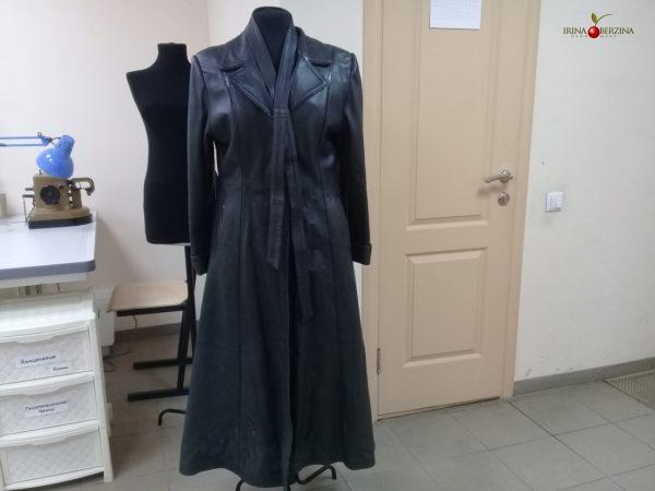 Зеленое пальто — перешив. Комсомольск-на-Амуре. Мастер-класс №0947