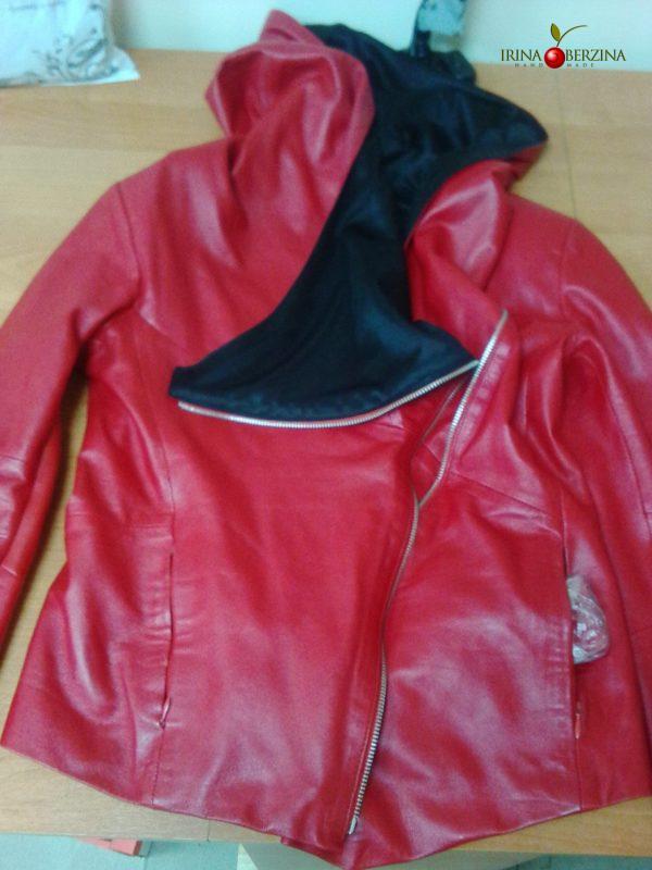 Красная куртка — ремонт. Мастер-класс №0603.