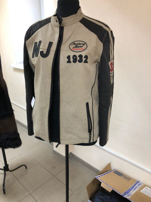 Кожаная куртка — укоротить рукава. Мастер-класс № 0867