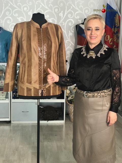 Куртка светлая — переделка. Ставрополь. Мастер-класс №0655