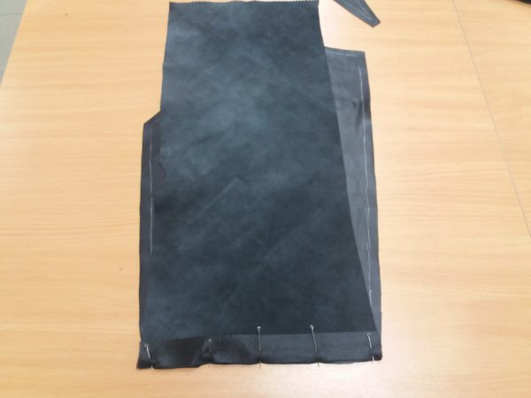Черные брюки — пошив. Мастер-класс №1093
